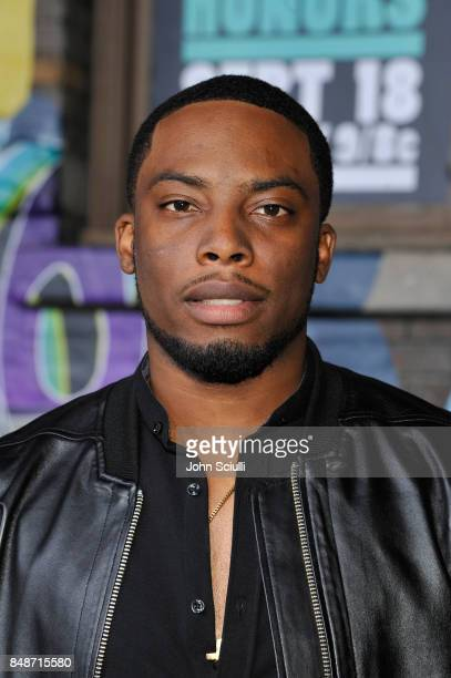 Woody McClain attends VH1 Hip Hop Honors The 90s Game Changers at Paramount Studios on September 17 2017 in Los Angeles California