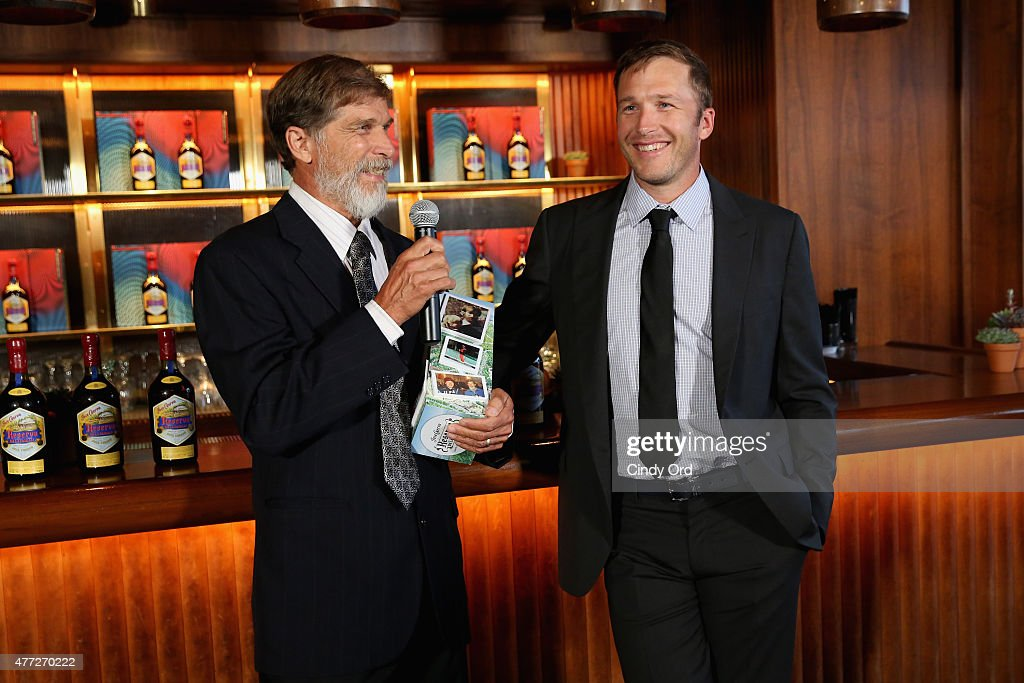 Woody Miller and Gold Medalist Bode Miller celebrate Father's Day with Jose Cuervo's Reserva De La Familia on June 15, 2015 in New York City.