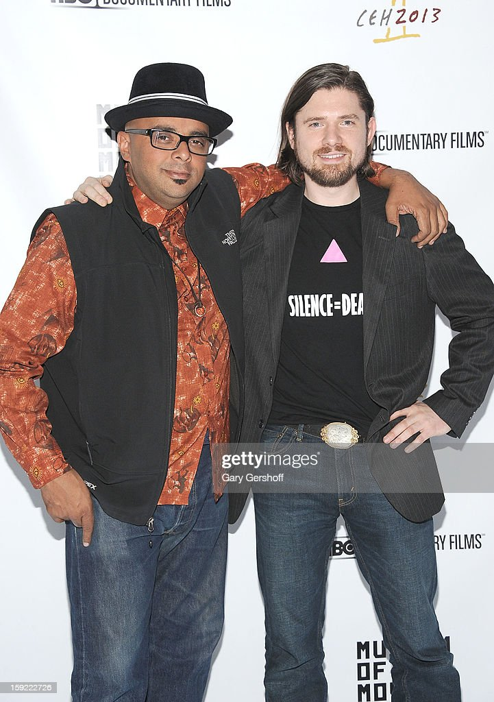 T. Woody Richman (L) and Tyler H. Walk attend the 6th annual Cinema Eye Honors For Nonfiction Filmmaking at Museum of the Moving Image on January 9, 2013 in the Queens borough of New York City.