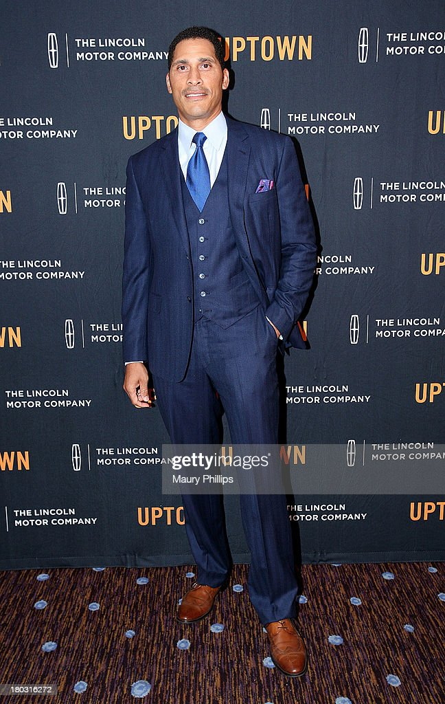 Woody Wilson attends The Journey Gala hosted by Bevy Smith at The Beverly Hilton Hotel on September 10, 2013 in Beverly Hills, California.