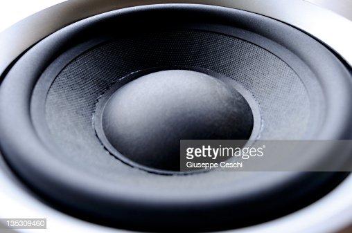 woofer loudspeaker : Stockfoto