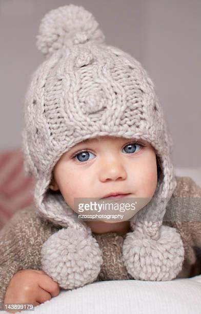 Wool cap baby