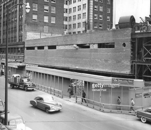 W Woolworth Company 1500 block of Champa steet Credit The Denver Post