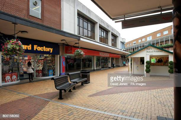 Woolworth store in Sutton Coldfield West Midlands unoccupied today