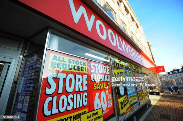 Woolworths in Whitley Bay Tyne and Wear will close in six days as shoppers grab a last minute bargain