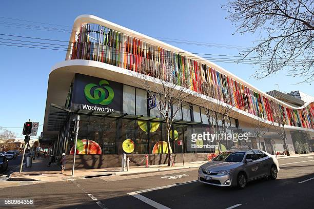 A Woolworths Ltd supermarket stands in Sydney Australia on Tuesday July 26 2016 Woolworths Chief Executive Officer Brad Banducci pledged to overhaul...