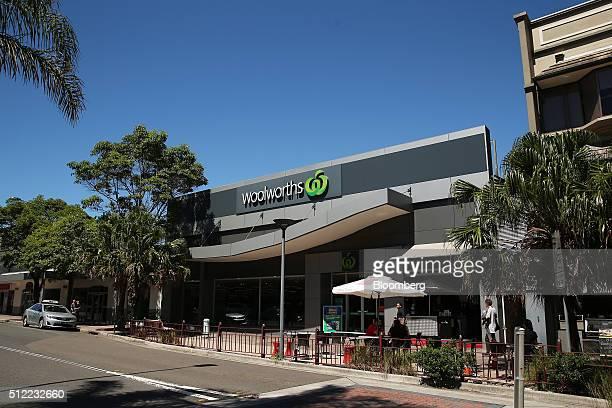 A Woolworths Ltd supermarket stands in Sydney Australia on Wednesday Feb 24 2016 Woolworths Ltd Australia's largest supermarket chain operator is...