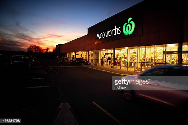 Woolworths Store in Mt Gambier South Australia