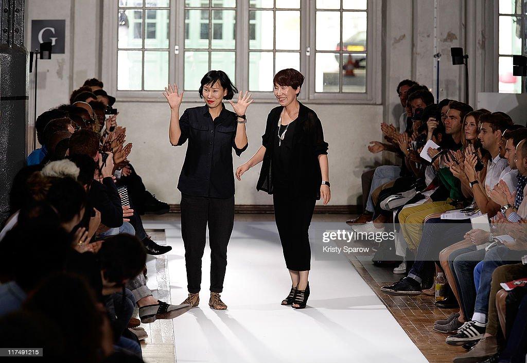 Wooyoungmi: Runway - Paris Fashion Week Menswear S/S 2012