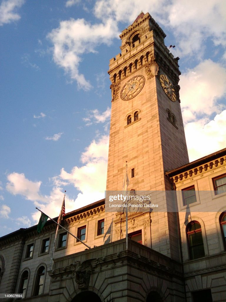 Worcester City Hall Tower
