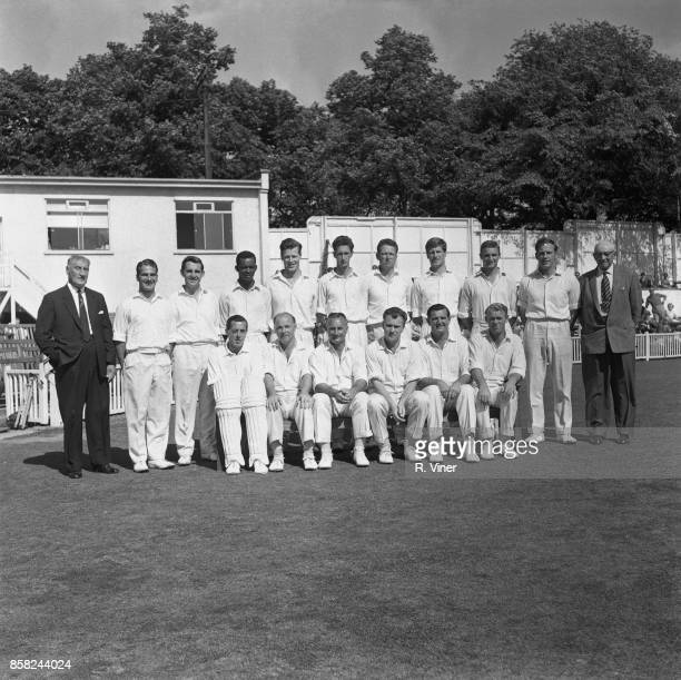 Worcestershire County Cricket Club winner of the County Championship 28th August 1964