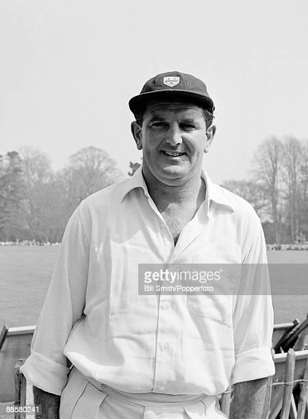 Worcestershire cricketer Tom Graveney circa 1966