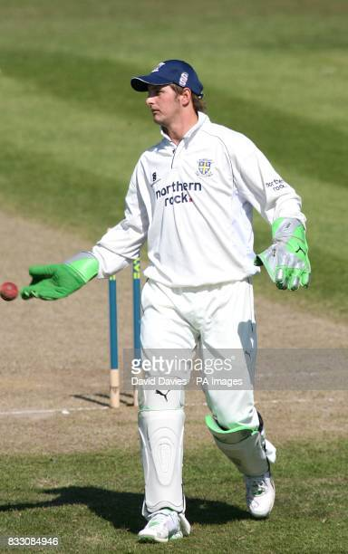 Worcestershire wicketkeeper Steven Davies