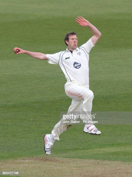Worcestershire's Alan Richardson during the LV= County Championship Division Two match at the Rose Bowl Southampton