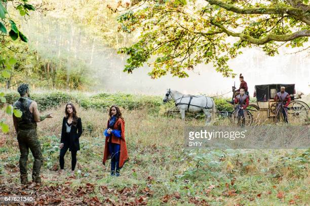 THE MAGICIANS 'Word As Bond' Episode 208 Pictured Grey Damon as The Dryad Stella Maeve as Julia Summer Bishil as Margo