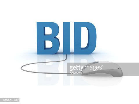 3D Word Bid with Computer Mouse
