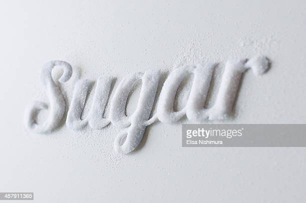 Word Sugar written in Sugar