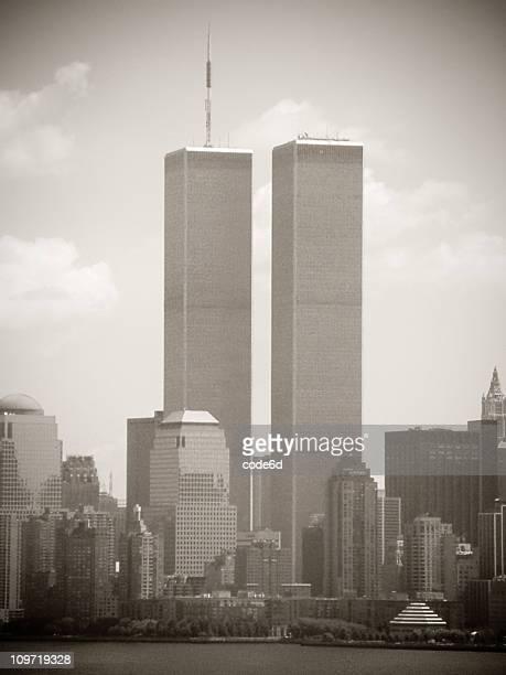 Wort Trade Center, New York City, 2001, sepia