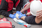 First aid after workplace accident