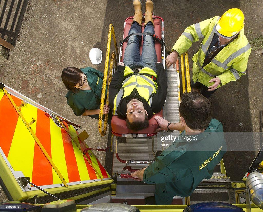 work accident : Stock Photo