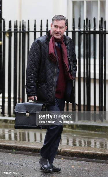 Work and Pensions Secretary David Gauke arriving in Downing Street London for a Cabinet meeting