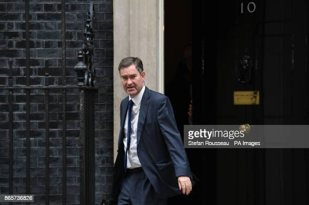Work and Pensions Secretary David Gauke leaving 10 Downing Street London after a Cabinet meeting