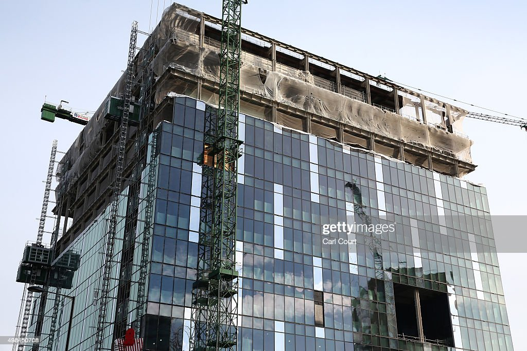Work progresses at the new us embassy building in nine for Consul getting started