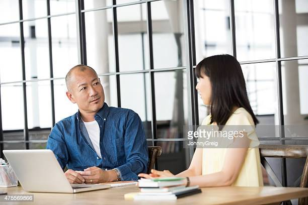 Work discussion