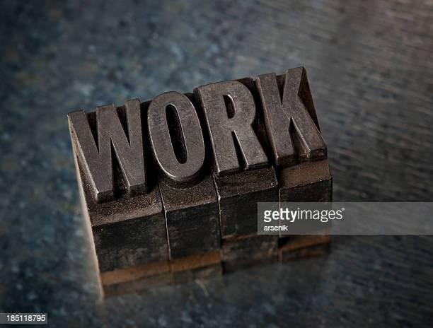 Work In Letterpress Type
