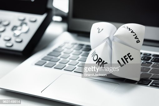 Work life balance choices : Stock Photo