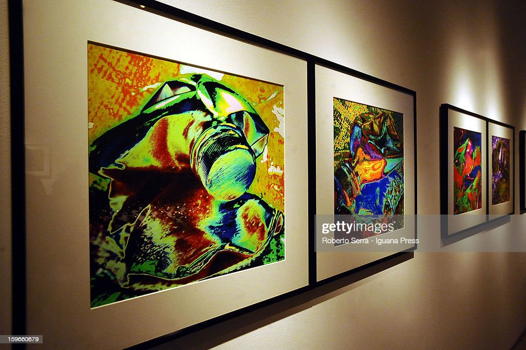 Work of italian photopher Nino Migliori exposed in his exhibition 'Antologica' at Palazzo Fava on January 17, 2013 in Bologna, Italy.