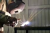 Work welder.
