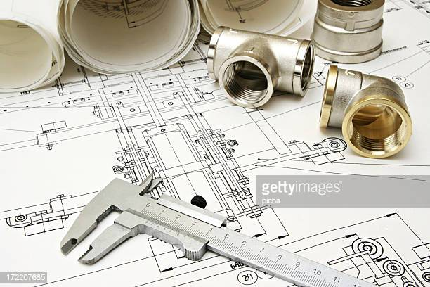 work with drawing and plumbing