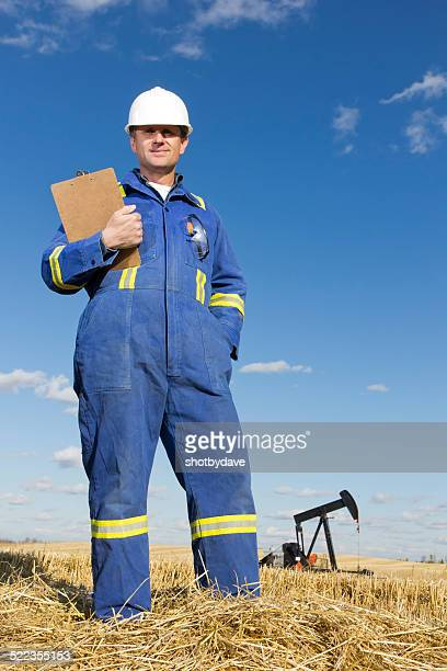Worker and Oil Well