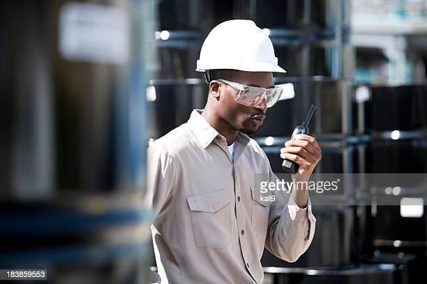 Travailleur de l'industrie chimique