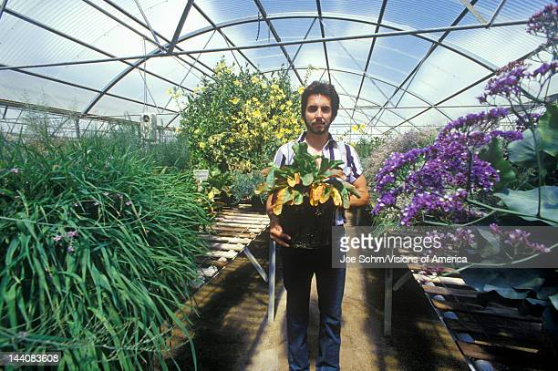 Worker at the University of Arizona Environmental Research Laboratory in Tucson AZ