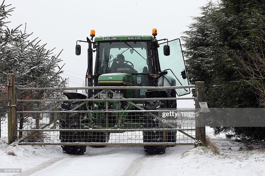 A worker blocks the entrance stands to the Peter Boddy slaughterhouse, with a tractor, which was raided as part of the police inquiry into the sale of horsemeat being sold as beef on February 13, 2013 in Todmorden, England. Officials searching for the source of horsemeat being passed off as beef have raided two meat plants in the United Kingdom. Police and officials from The British Food Standards Agency entered the Peter Boddy slaughterhouse in Todmorden which is suspected to have supplied horse carcasses to Farmbox Meats in Aberystwyth, Wales.