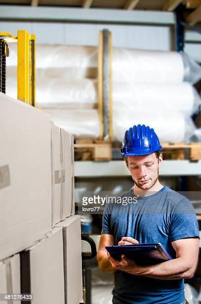 Arbeiter, die Bestände