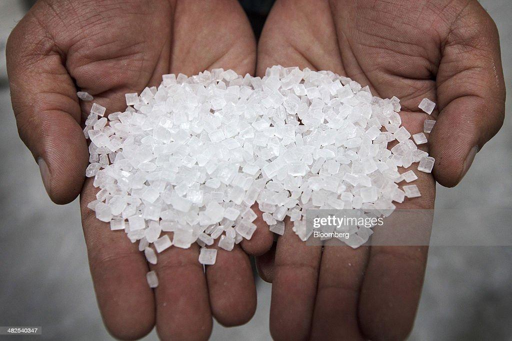 how to make large sugar crystals