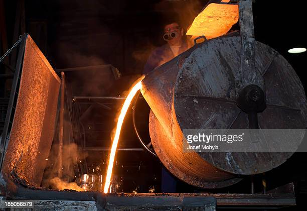 Worker in Iron Foundry