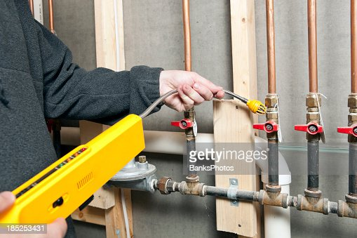 how to detect natural gas leak in house