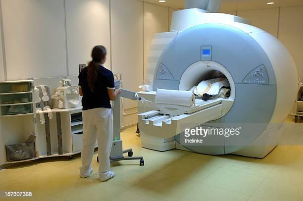 Magnetischer resonance Bildbearbeitung scan
