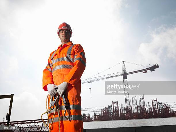 Worker With Cranes