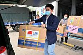 CHN: Guangxi Donates Medical Supplies To Uruguay And Cambodia