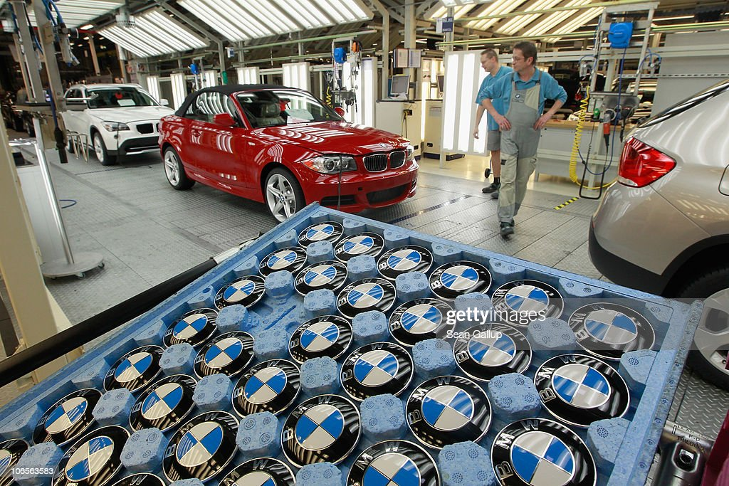 bmw to produce electric cars in leipzig getty images. Black Bedroom Furniture Sets. Home Design Ideas