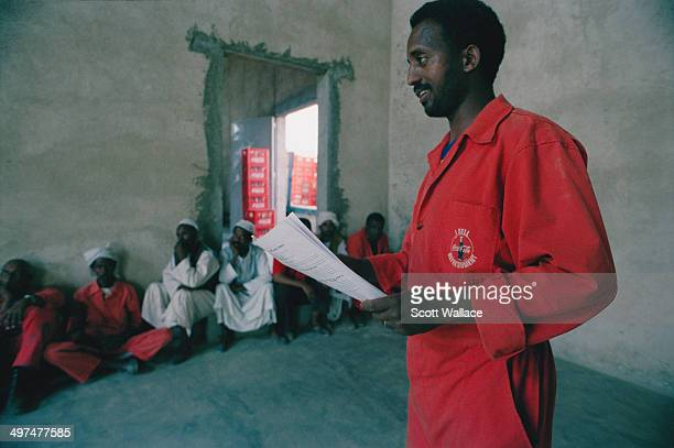 Workers at a CocaCola bottling plant in Asmara in Eritrea 2004