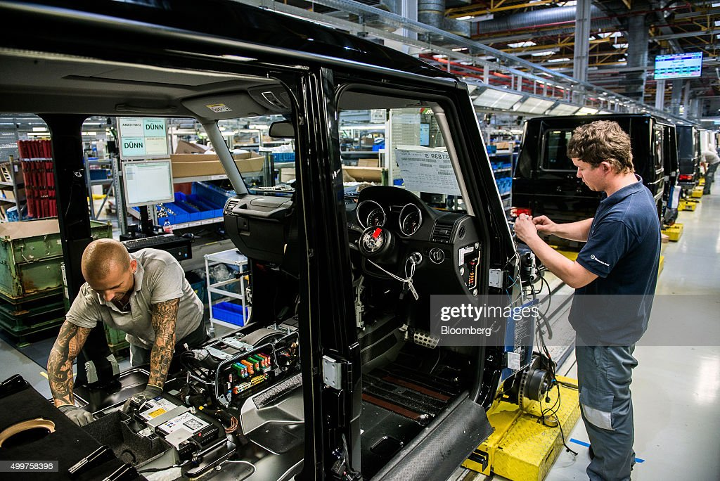 Manufacture of mercedes benz ag g class automobiles for Mercedes benz ag