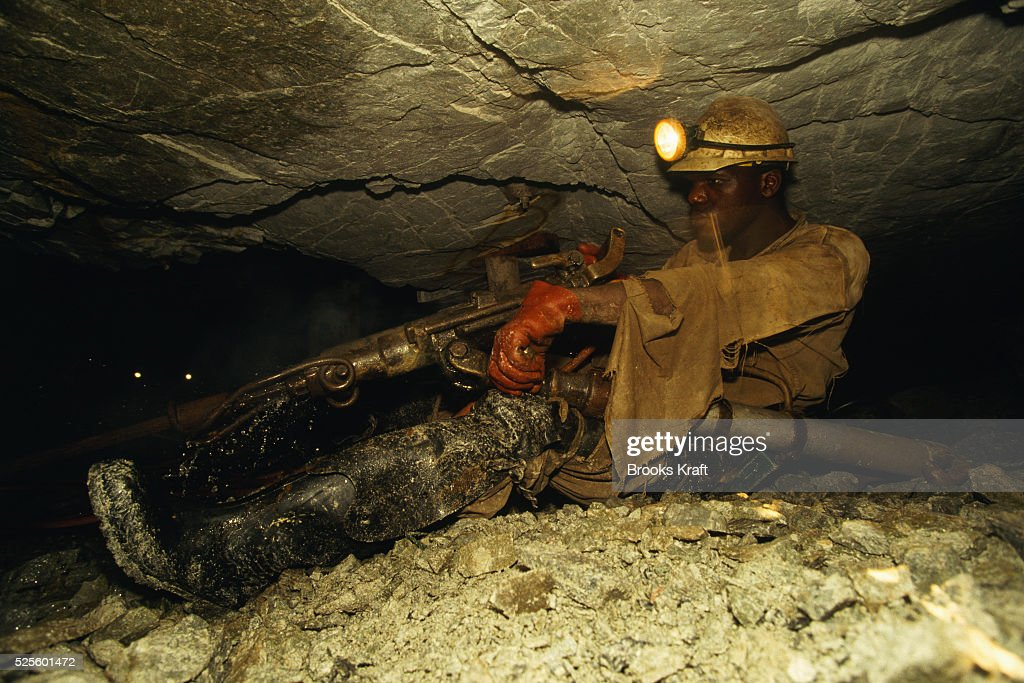 Workers from Kinross Gold Mine