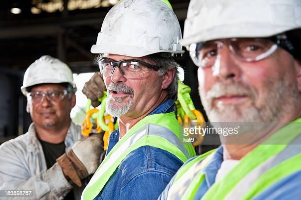 Arbeiter in der Fabrik
