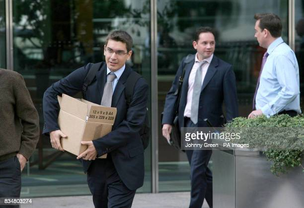 Workers leave the Lehman Brothers headquarters at Canary Wharf in London Lehman Brothers a top US investment bank has filed for bankruptcy